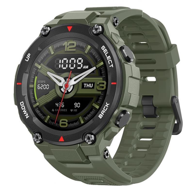 "T-Rex reloj inteligente AMOLED 3,3 cm (1.3"") Verde GPS (satélite) - Imagen 1"