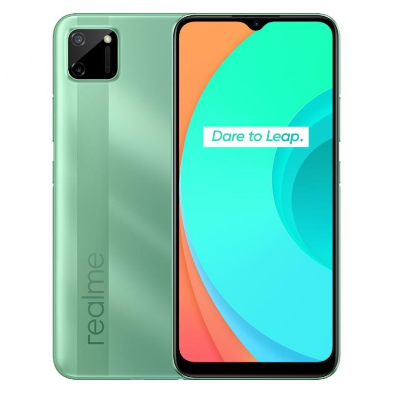 """C11 16,5 cm (6.5"""") 2 GB 32 GB SIM doble 4G MicroUSB Verde Android 10.0 5000 mAh - Imagen 1"""