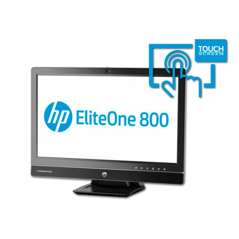 "HP 800 G1 All in One 23"" Táctil Intel Core i5 4570S 2.9 GHz. · 8 Gb. SO-DDR3 RAM · 500 Gb. SATA · DVD-RW · Windows 10 Pro · Táct"