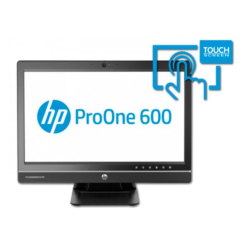 HP ProOne 600 G2 AIO Intel Core i5 6500 3.2 GHz. · 8 Gb. SO-DDR3 RAM · 500 Gb. SATA · DVD-RW · Windows 10 Pro · Táctil 23 '' Ful