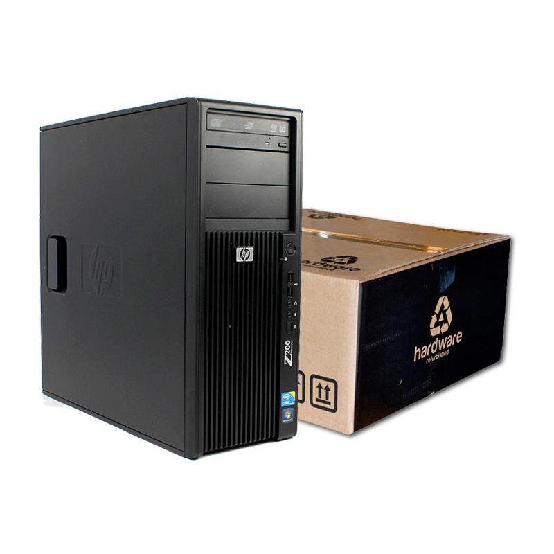 HP WorkStation Z200 Intel Core i7 870 2.93 GHz. · 16 Gb. DDR3 RAM · 240 Gb. SSD · 500 Gb. SATA · DVD-RW · Windows 10 Pro · nVidi