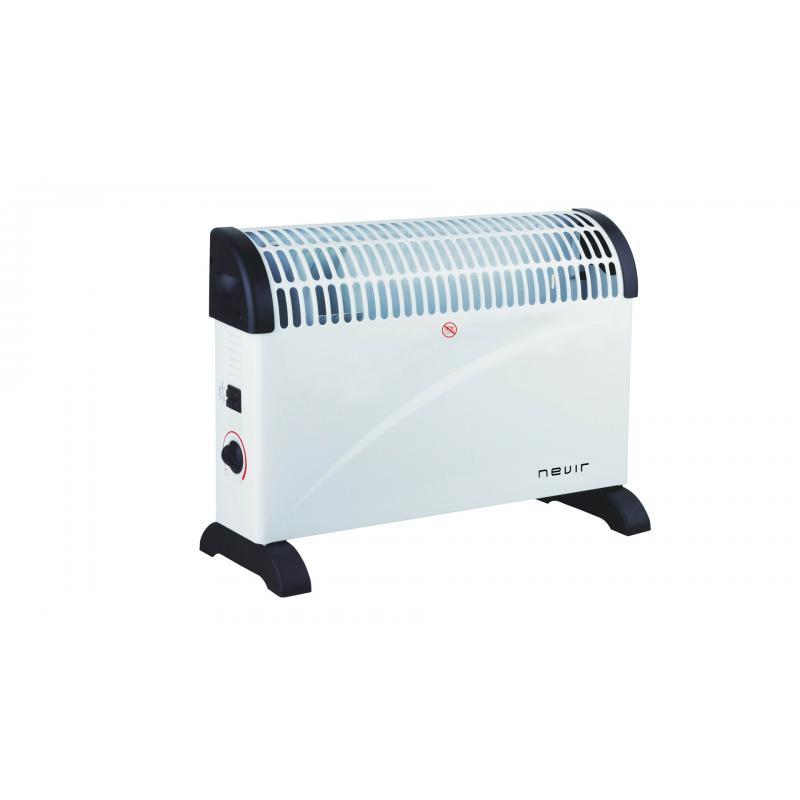 NVR-9545CVT calefactor eléctrico Interior Negro, Blanco 2000 W - Imagen 1