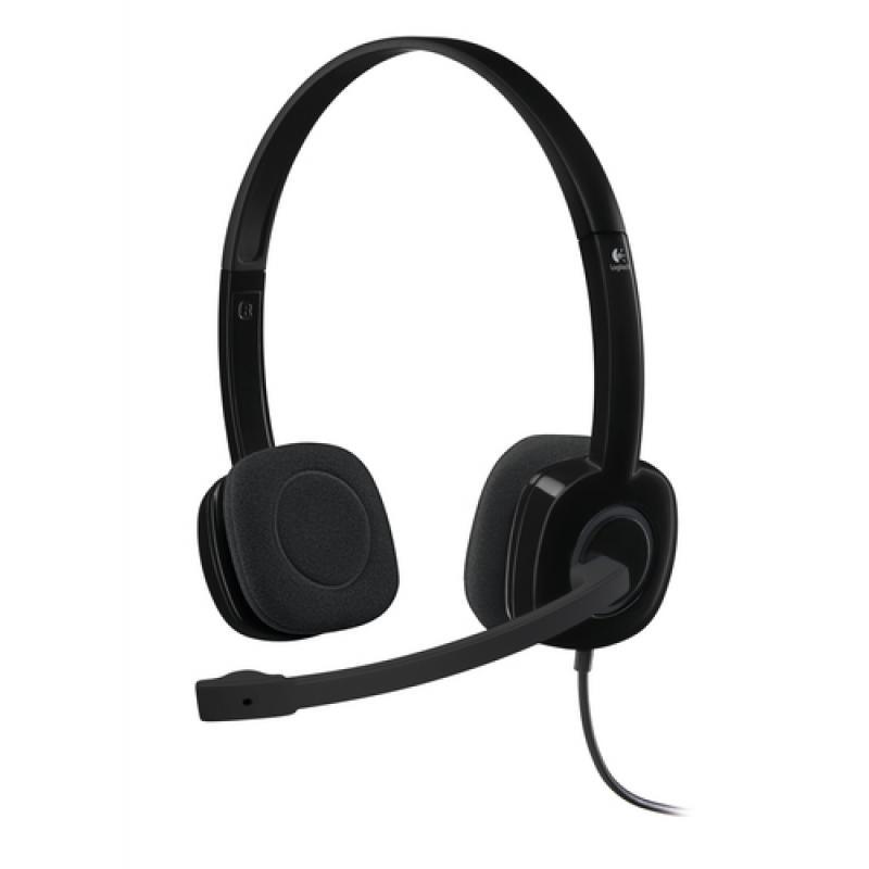 Logitech Stereo H151 - Headset - On-Ear - Imagen 1