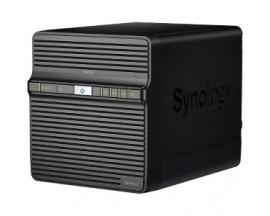 Sistema de almacenamiento SAN/NAS Synology DiskStation DS418J - De Escritorio - Realtek Dual-core (2 Core) 1,40 GHz - 4 x HDD ad