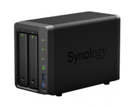 Sistema de almacenamiento SAN/NAS Synology DiskStation DS718+ - De Escritorio - Intel Celeron J3455 Quad-core (4 Core) 1,50 GHz