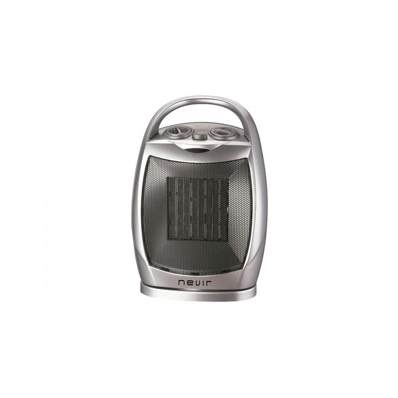 NVR-9538CR calefactor eléctrico Interior Plata 1500 W - Imagen 1