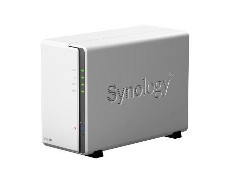 Sistema de almacenamiento SAN/NAS Synology DiskStation DS218J - De Escritorio - Marvell Armada 385 88F6820 Dual-core (2 Core) 1,
