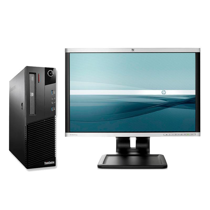 "Lenovo M92P + TFT 24Intel Core i5 3470 3.2 GHz. · 8 Gb. DDR3 RAM · 2x 500 Gb. SATA · DVD · Windows 10 Pro · Monitor TFT 24"""