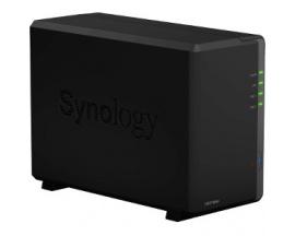 Sistema de almacenamiento SAN/NAS Synology DiskStation DS218play - De Escritorio - Realtek Quad-core (4 Core) 1,40 GHz - 2 x HDD