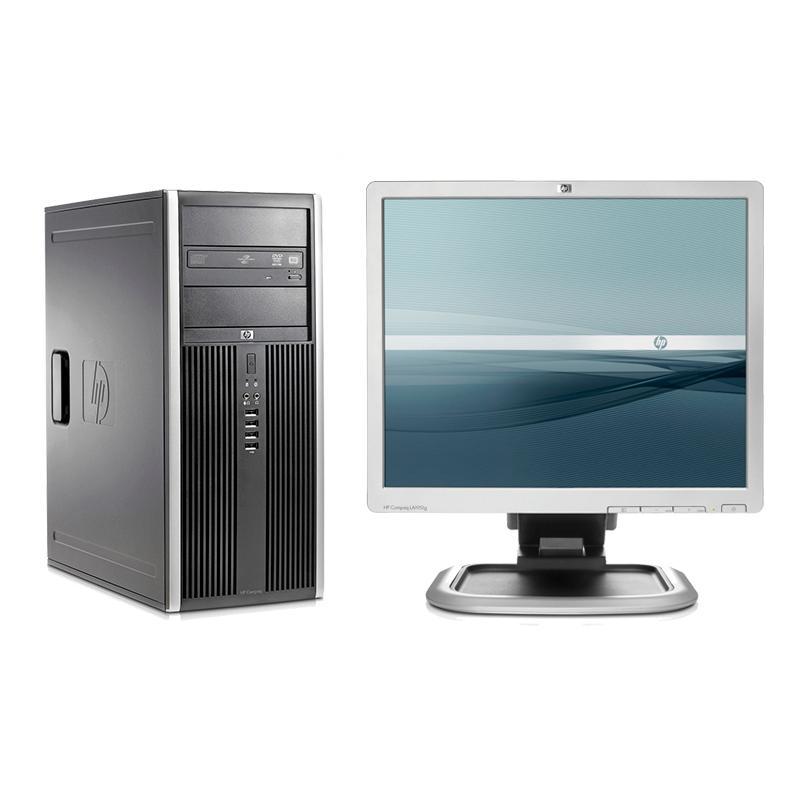 HP 8200 Elite Torre + HP LA1951GIntel Core i5 2400 3.1 GHz. · 4 Gb. DDR3 RAM · 500 Gb. SATA · DVD-RW · COA Windows 7 Pro · M