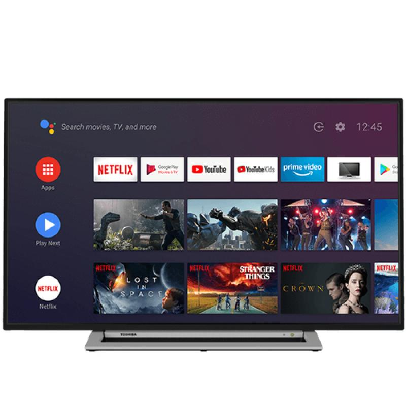 "Toshiba 55UA3A63DG Televisor 139,7 cm (55"") 4K Ultra HD Smart TV Wifi Negro, Gris - Imagen 1"