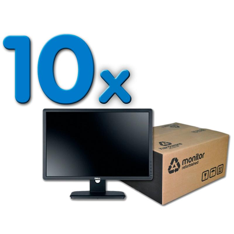 Dell P2213T Pack 10Pack 10 Unidades: Led 22 '' HD 16:10 · Resolución 1680x1050 · Dot pitch 0.282 mm · Respuesta 5 ms