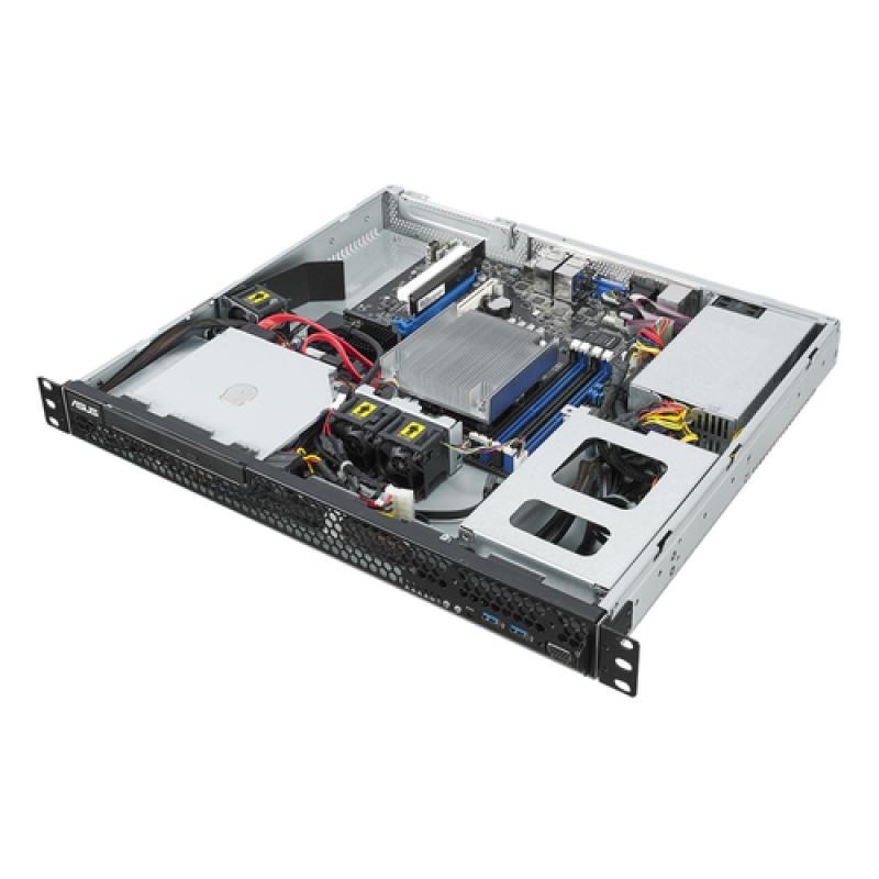 ASUS RS100-E10-PI2 Intel C242 LGA 1151 (Zócalo H4) Bastidor (1U) Negro, Metálico - Imagen 1