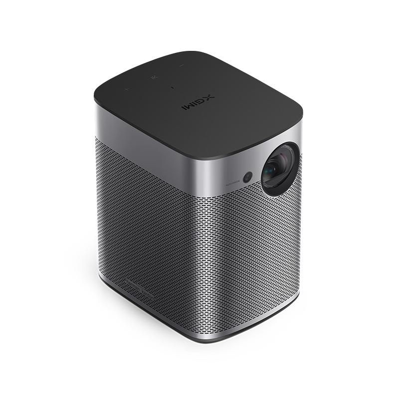 Halo videoproyector 800 lúmenes ANSI DLP 1080p (1920x1080) 3D Proyector inteligente Plata - Imagen 1