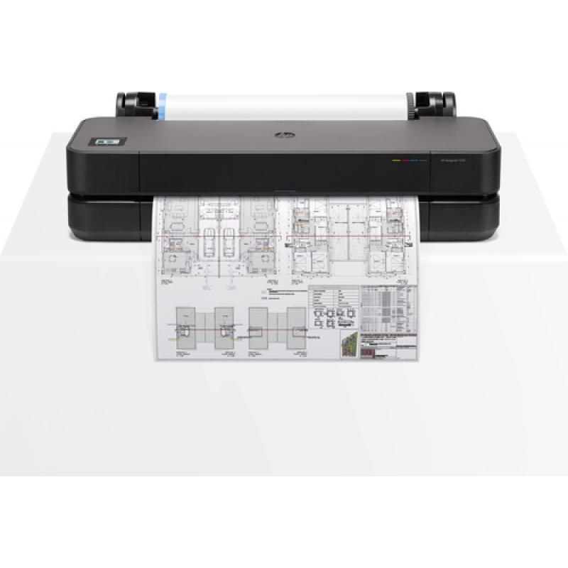 HP DesgnJet T250 24-in Printer impresora de gran formato - Imagen 1