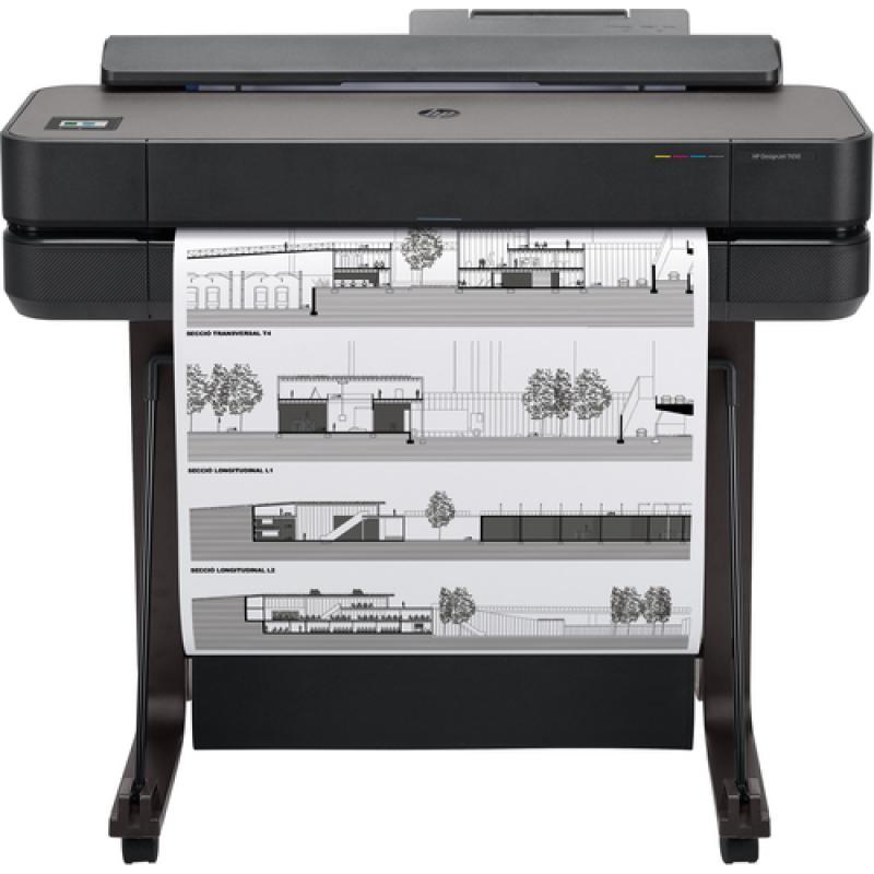 HP DesgnJet T650 24-in Printer impresora de gran formato - Imagen 1