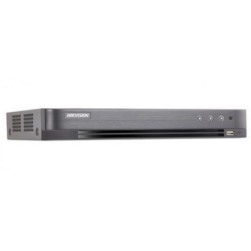 DS-7204HUHI-K1/P videograbador digital Negro