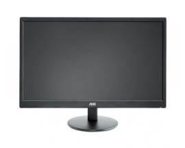 "Monitor LCD AOC Value e2470Swda - 61 cm (24"") - LED - 16:9 - 5 ms - Inclinación de la pantalla ajustable - 1920 x 1080 - 16,"