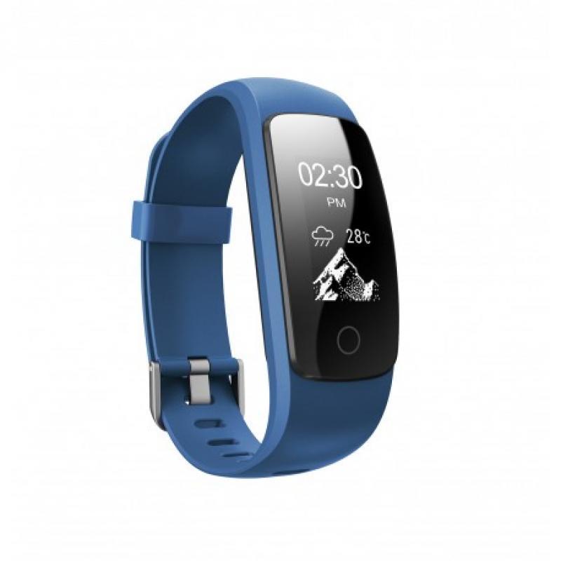 P5 PULSE FITNESS reloj deportivo Azul Pantalla táctil Bluetooth - Imagen 1