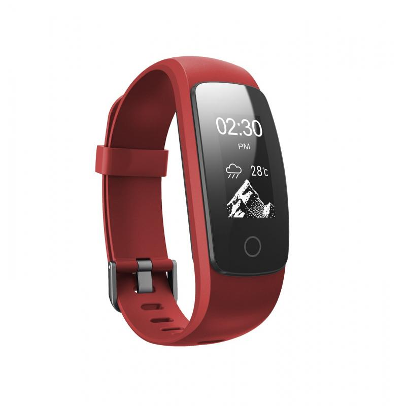 P5 PULSE FITNESS reloj deportivo Rojo Pantalla táctil Bluetooth - Imagen 1