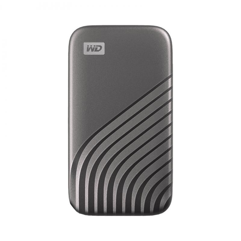 My Passport 500 GB Gris - Imagen 1