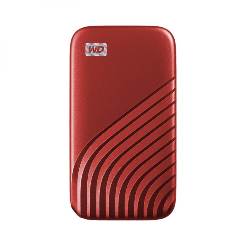 My Passport 1000 GB Rojo - Imagen 1
