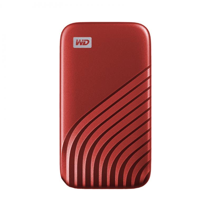 My Passport 500 GB Rojo - Imagen 1