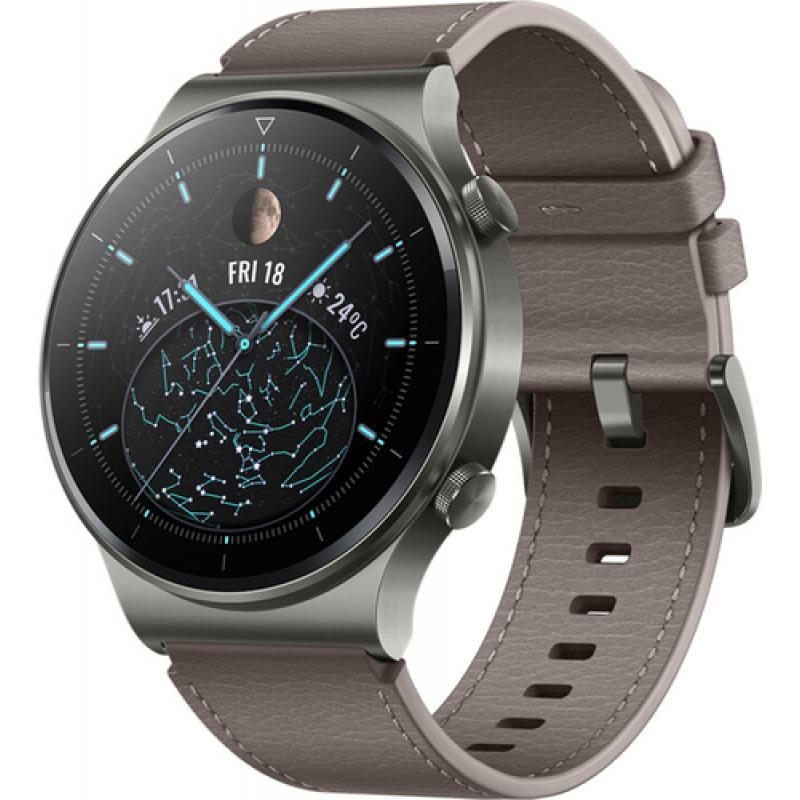 "Huawei WATCH GT 2 Pro AMOLED 3,53 cm (1.39"") Gris GPS (satélite) - Imagen 1"