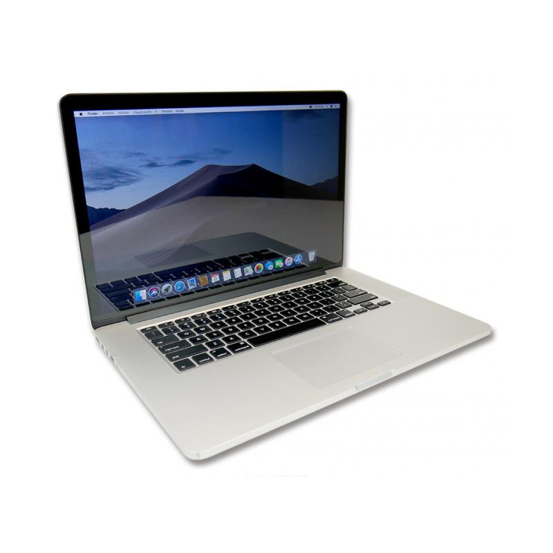Apple MacBook Pro 10,1 Retina Intel Core i7 3615QM 2.3 GHz. · 8 Gb. DDR3 RAM · 256 Gb. SSD · macOS Mojave · Led 15.4 '' 2K 16:1