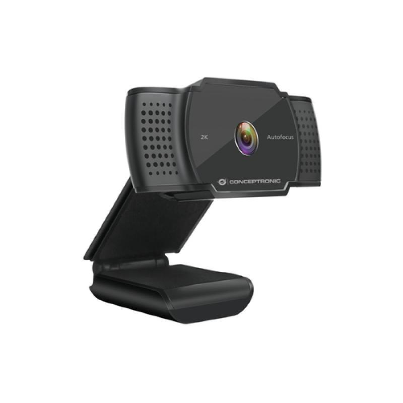 Conceptronic AMDIS02B cámara web 5 MP 2592 x 1944 Pixeles USB 2.0 Negro - Imagen 1