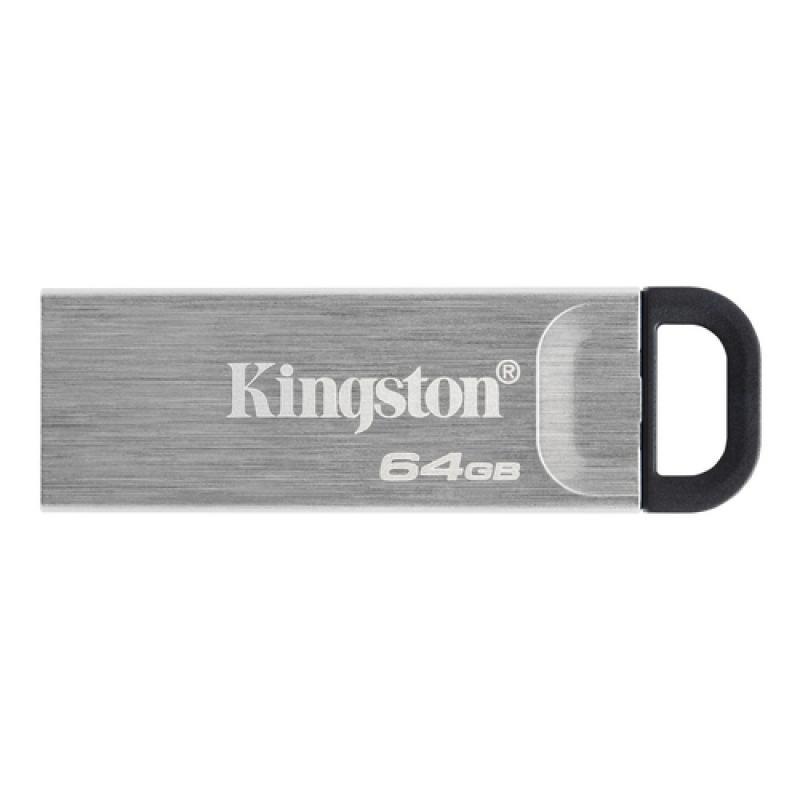 Kingston Technology DataTraveler Kyson unidad flash USB 64 GB USB tipo A 3.2 Gen 1 (3.1 Gen 1) Plata - Imagen 1