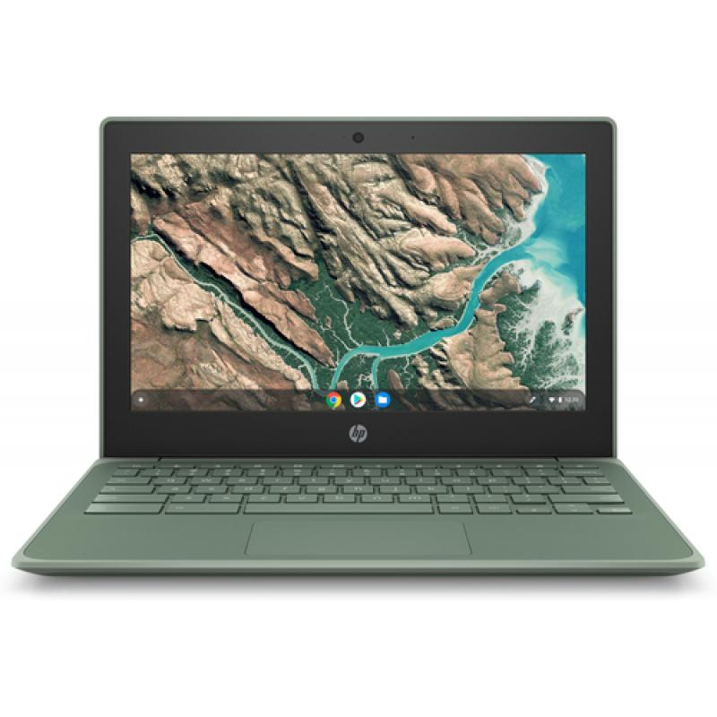 "HP Chromebook 11 G8 EE Verde 29,5 cm (11.6"") 1366 x 768 Pixeles Pantalla táctil Intel® Celeron® N 4 GB LPDDR4-SDRAM 32 GB eMMC W"
