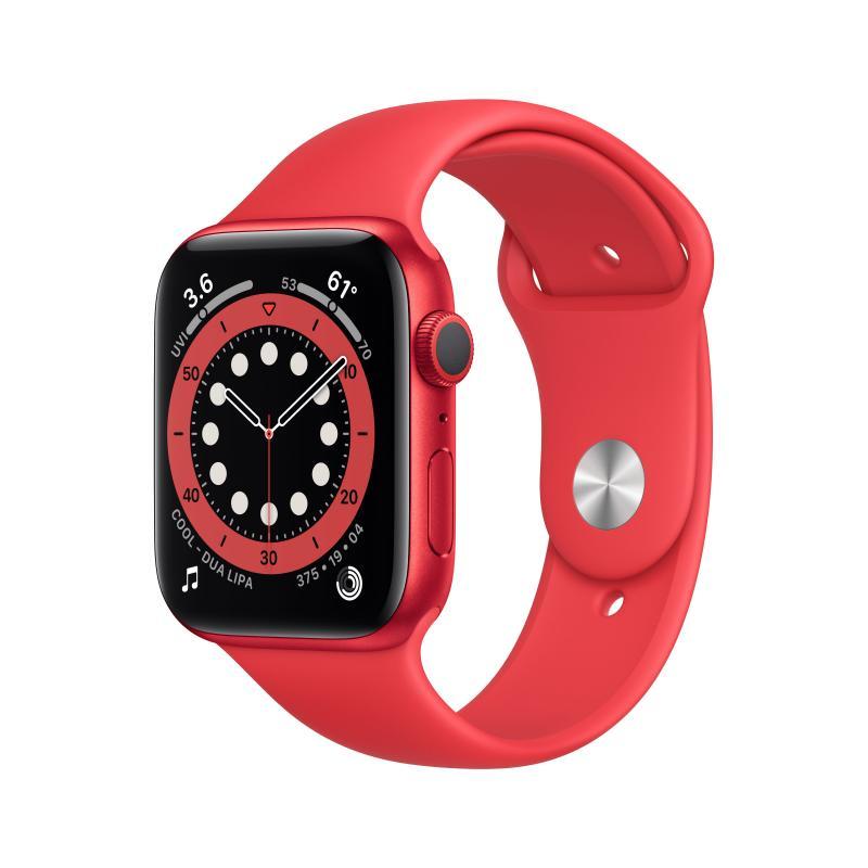 Watch Series 6 OLED 44 mm Rojo GPS (satélite) - Imagen 1