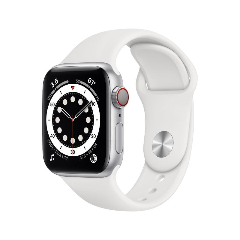 Watch Series 6 OLED 40 mm Plata 4G GPS (satélite) - Imagen 1