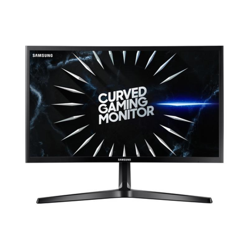"Samsung Curved 24"" FHD LED Monitor - Black - Imagen 1"