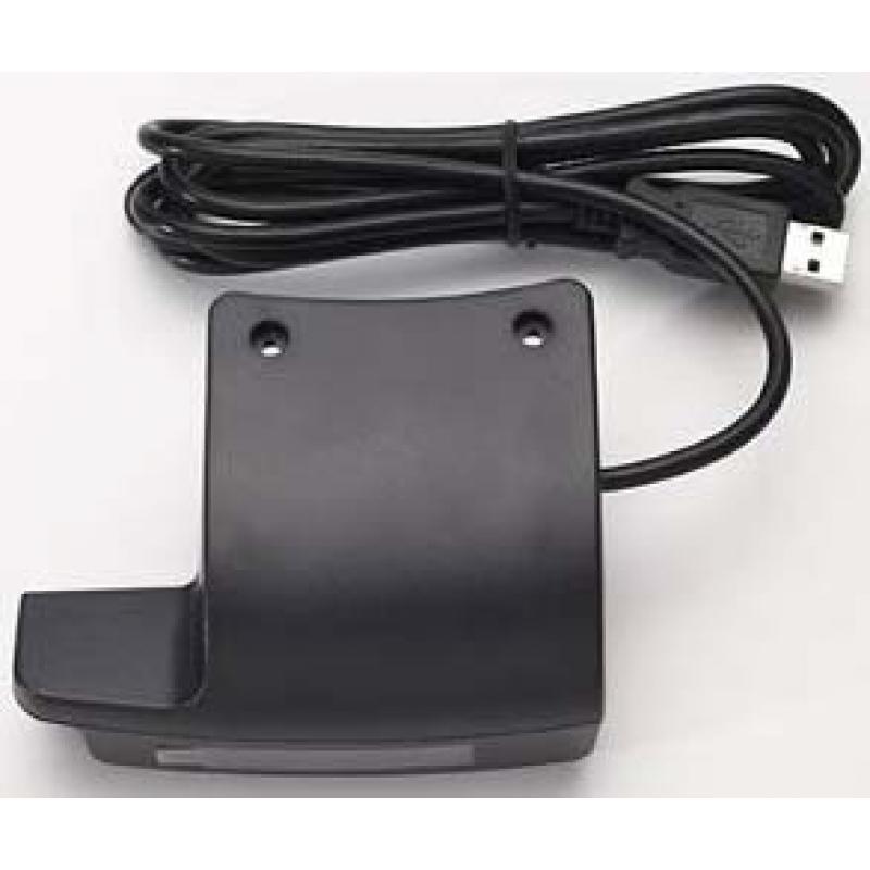 E177037 lector de tarjeta magnética USB Negro - Imagen 1