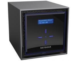 Sistema de almacenamiento SAN/NAS Netgear ReadyNAS RN424 - De Escritorio - 1 x Intel Atom C3338 Dual-core (2 Core) 1,50 GHz - 2