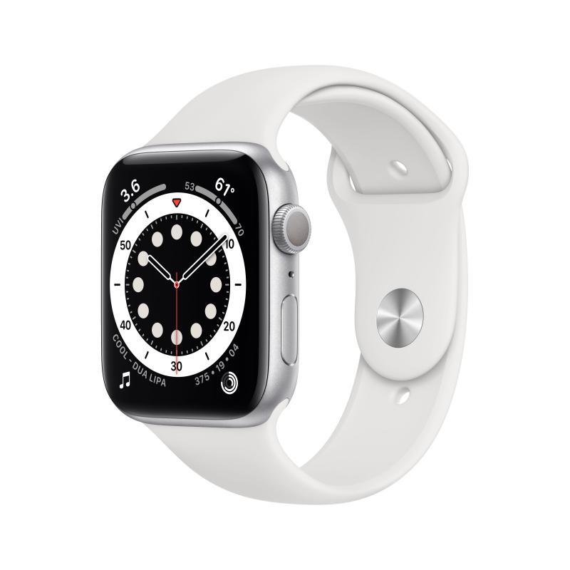 Watch Series 6 OLED 40 mm Plata GPS (satélite) - Imagen 1