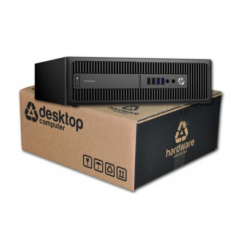 HP EliteDesk 800 G1 i7 Intel Core i7 4790 3.6 GHz. · 8 Gb. DDR3 RAM · 500 Gb. SATA · DVD · Windows 10 Pro - Imagen 1
