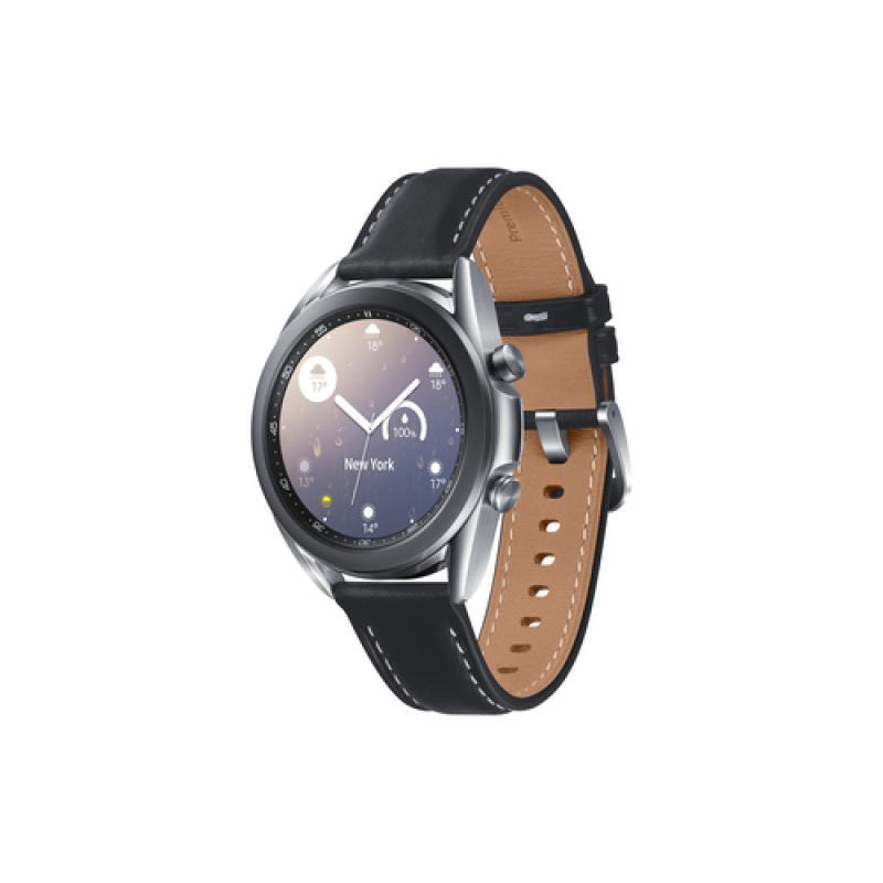 """Samsung Galaxy Watch3 SAMOLED 3,05 cm (1.2"""") Plata GPS (satélite) - Imagen 1"""