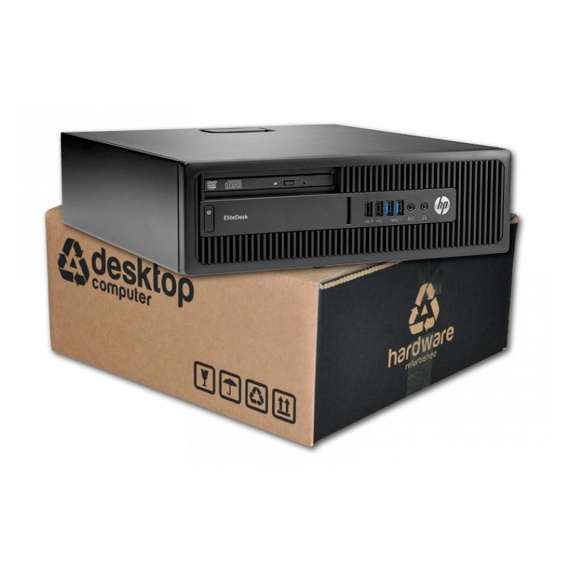 HP EliteDesk 800 G2 Intel Core i7 6700 3.4 GHz. · 8 Gb. DDR4 RAM · 256 Gb. SSD · SSD · DVD · Windows 10 Pro - Imagen 1