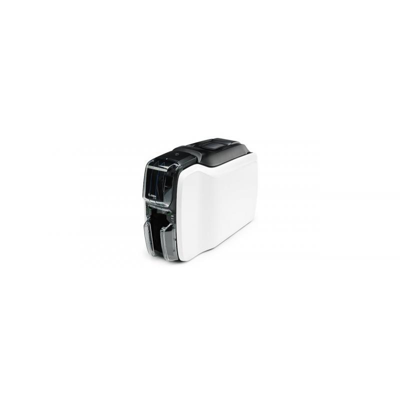 ZC100 impresora de tarjeta plástica Pintar por sublimación/Transferencia térmica Color 300 x 300 DPI - Imagen 1
