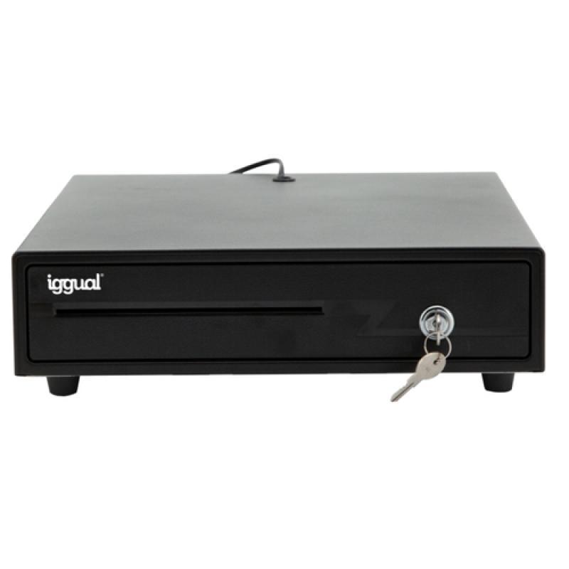 iggual IRON-10 Cajón de efectivo automático y manual - Imagen 1