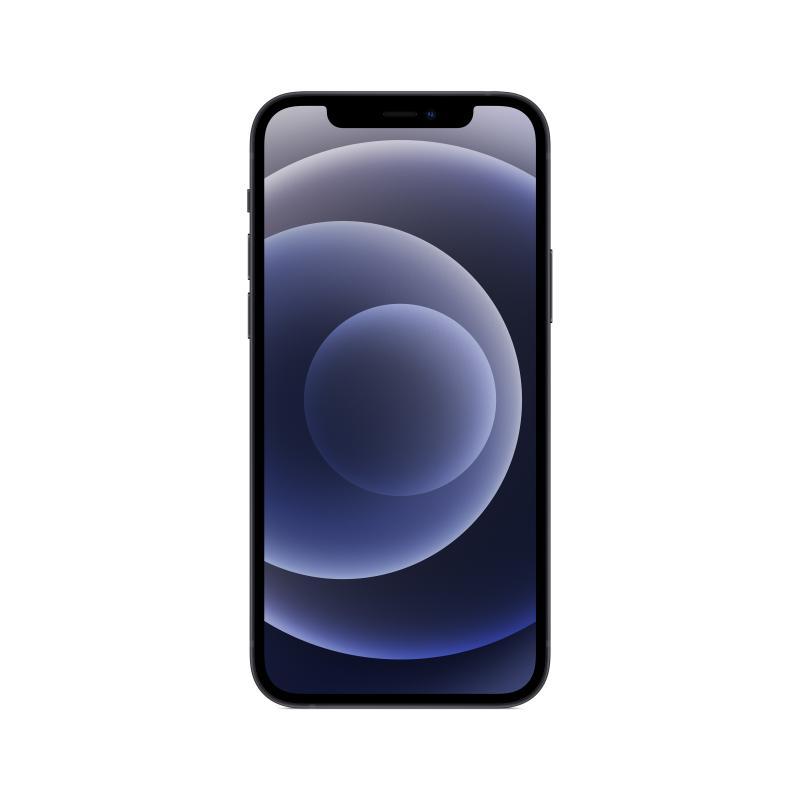 """iPhone 12 15,5 cm (6.1"""") 64 GB SIM doble 5G Negro iOS 14 - Imagen 1"""