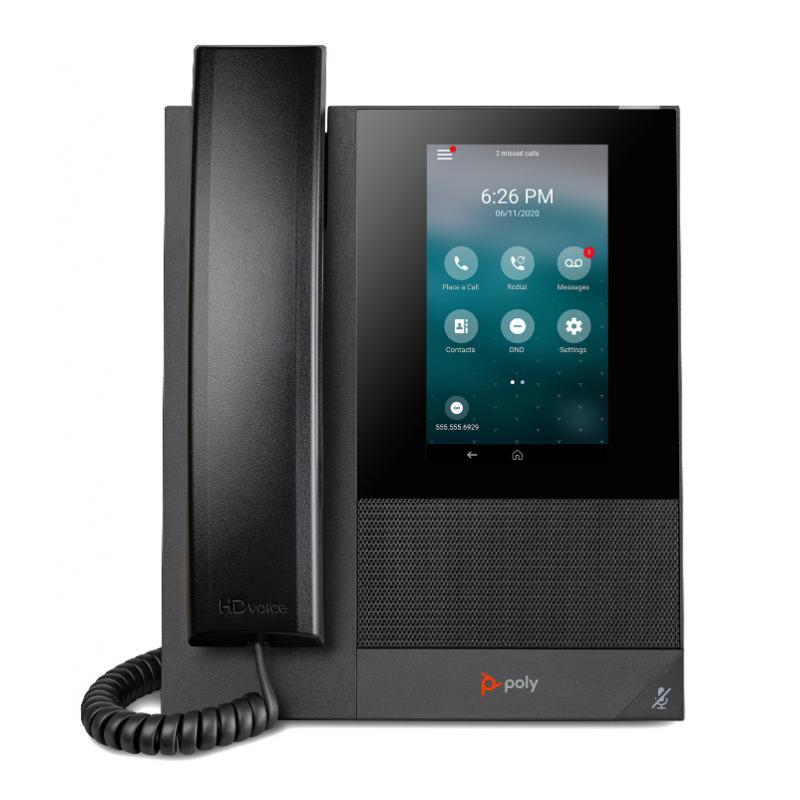 CCX 400 teléfono IP Negro Terminal con conexión por cable IPS - Imagen 1