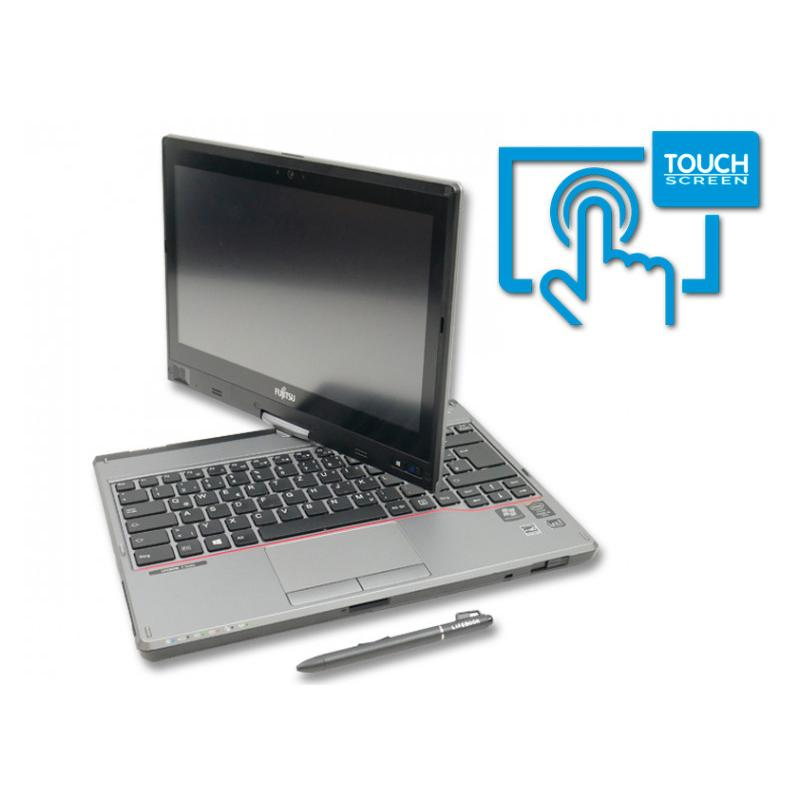 Fujitsu LifeBook T725 W10PIntel Core i5 5300U 2.3 GHz. · 8 Gb. SO-DDR3 RAM · 128 Gb. SSD · Teclado internacional con pegatin