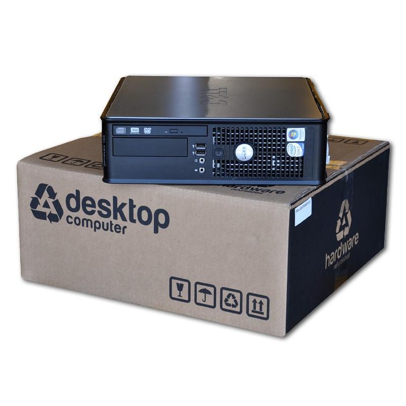 Dell Optiplex GX780 SFF Intel Core 2 Duo E7500 2.93 GHz. · 4 Gb. DDR3 RAM · 160 Gb. SATA · DVD · Windows 7 Pro - Imagen 1