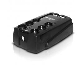600 VA, 360 W, 220-240 Vac, 50/60 Hz, USB, 6 + 3 I EC 320 C13, 3.7 Kg - Imagen 1