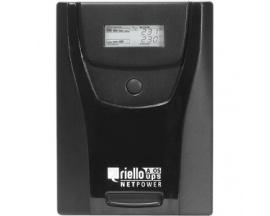 SAI de línea interactiva Riello NetPower NPW 1500 - 1,50 kVA/900 W - Torre - 4 Hora(s) Tiempo de Recarga de Batería - Acido de p