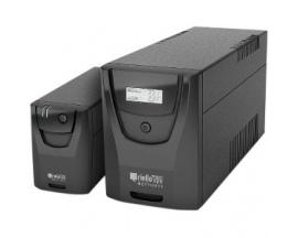 SAI de línea interactiva Riello NetPower NPW 600 - 600 VA/360 W - Torre - 8 Hora(s) Tiempo de Recarga de Batería - 220 V AC, 230